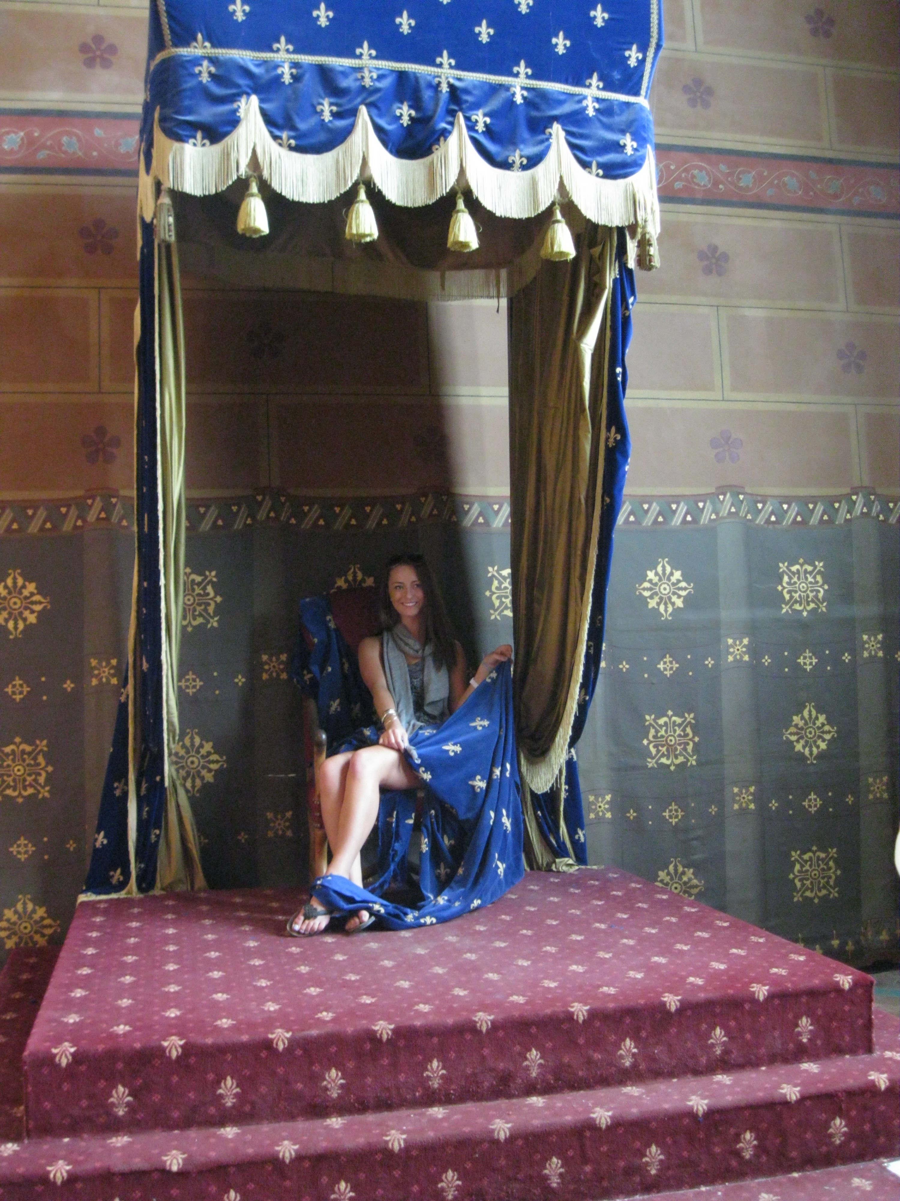 Blois, King and queen's chair