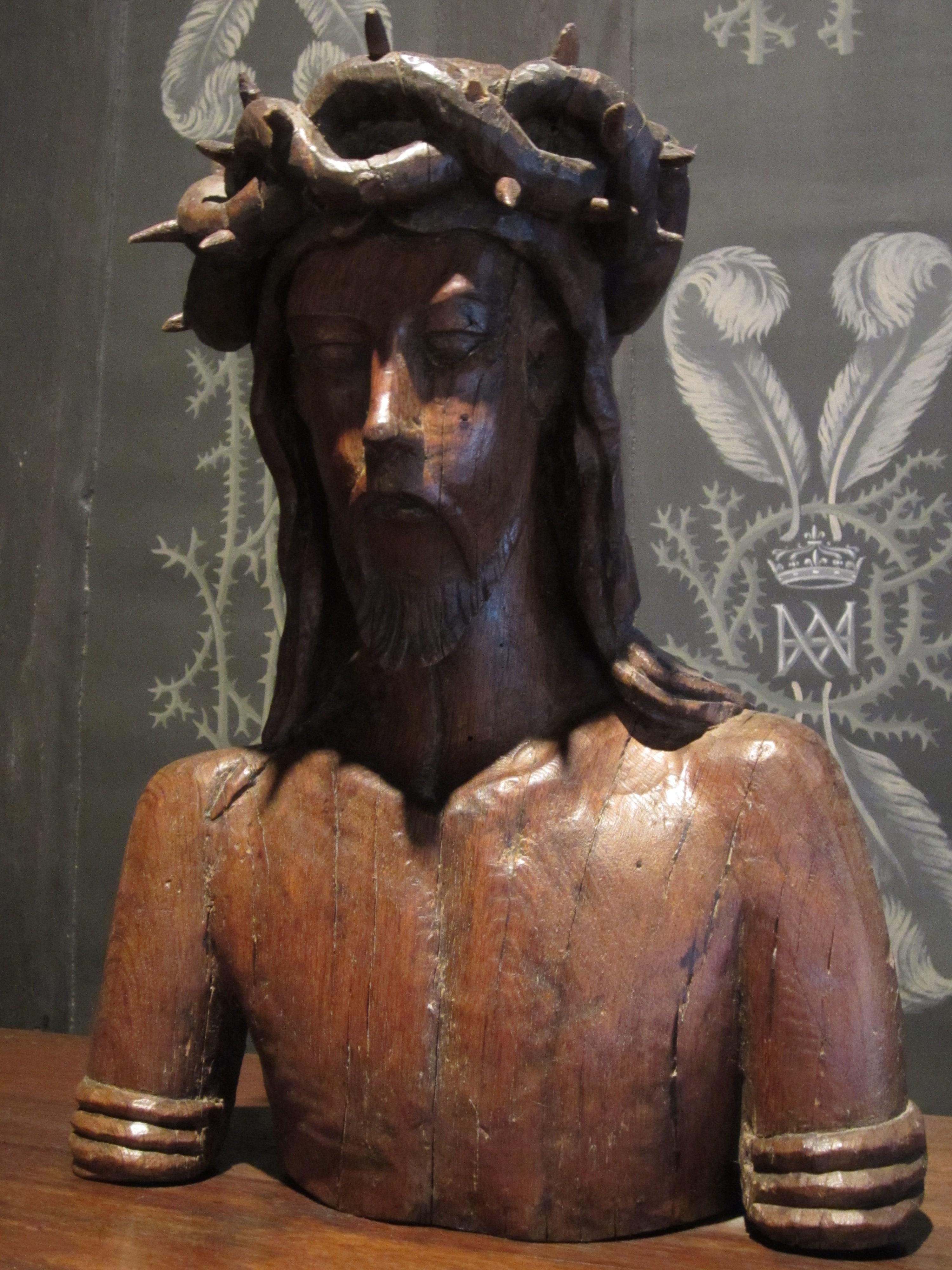 Christ in Louise de Lorraine's bedroom, Château de Chenonceau