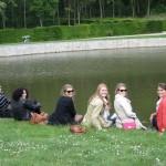 Pond at Vaux-le-Vicomte