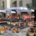 Flea market in Uzès