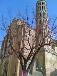 Uzès, church