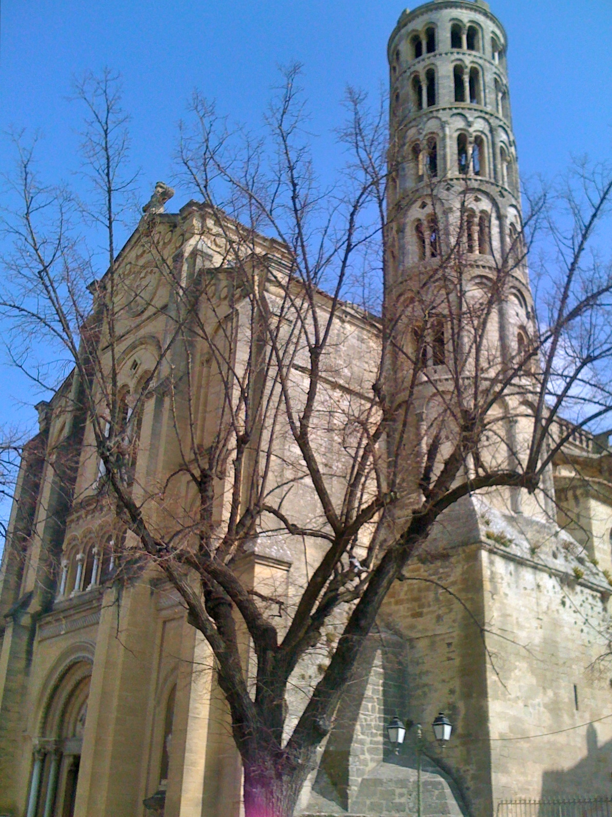 Uzès, church