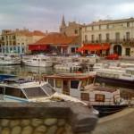 Port in Tarascon