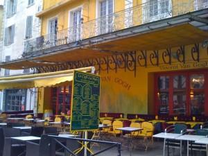 Arles, Le Café La nuit
