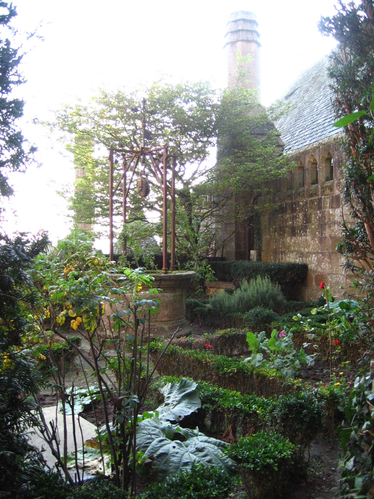 Mont Saint Michel, medieval gardens