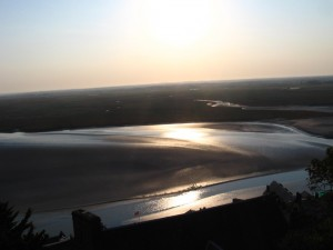 Quicksand, Mont Saint Michel