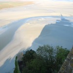 Mont Saint Michel, shadow