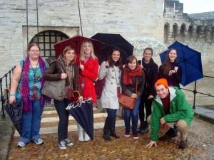 Pont Benezet, Pont d'Avignon, sous la pluie...