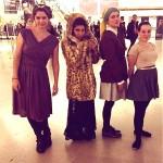 Les filles de SBCjyf au Musée du Louvre