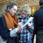 Spencer et Nick au Musée du Louvre