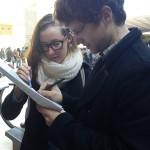 Marisa et Dylan au Musée du Louvre