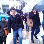Pluie sur Arles