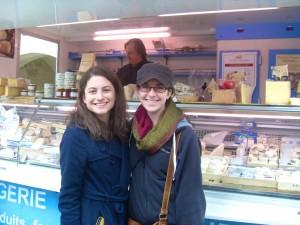 Le marché d'Uzès, fromagerie