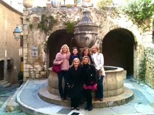 Une fontaine à Saint Paul de Vence