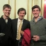 Dylan, notre guide provencal Gilles, et George