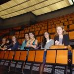 Dans la salle de l'Opéra Bastille