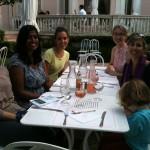 Déjeuner à la Villa Rothchild