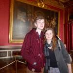 Douglas et sa soeur en visite à Paris