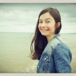 Clare à Omaha Beach