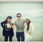 Natsumi, Jake et Anisha