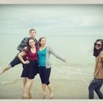 Doug, Clara, Grace et Lizzy