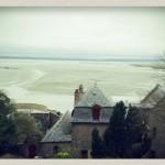 Vue sur la baie depuis le Mont Saint Michel