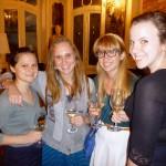 Lizzy, Sophia, Melissa et Kara