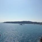 La mer sous le soleil de Nice