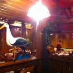 Restaurant strasbourgeois et sa cigogne