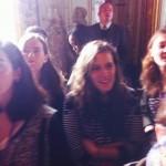 Les étudiants à Versailles