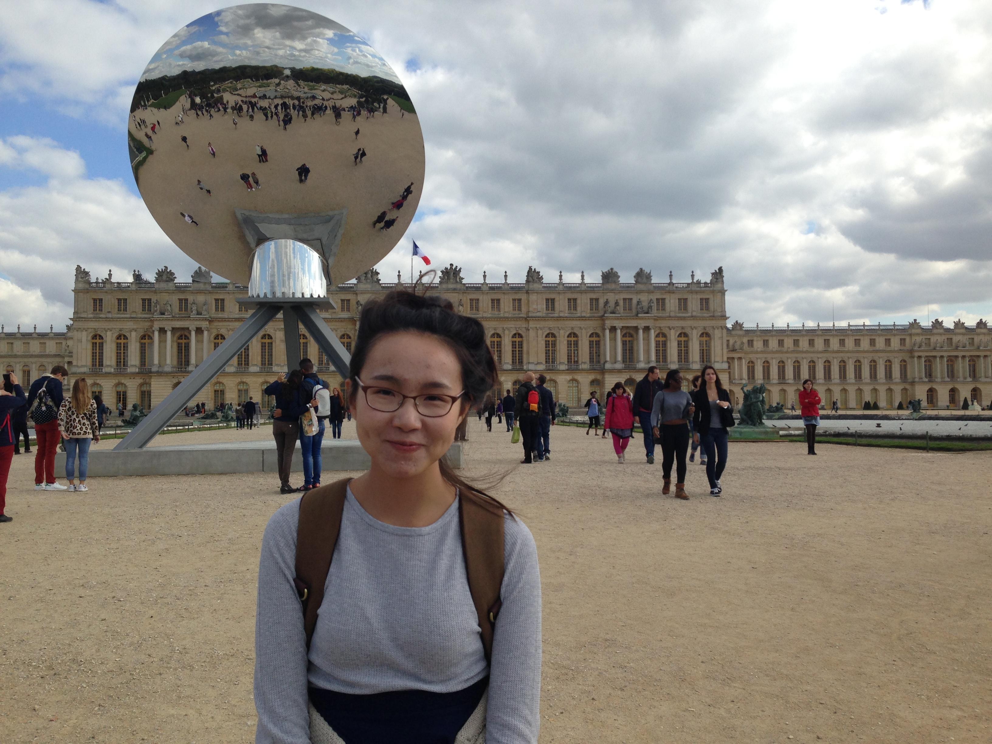 Mei Mei et Anish Kapoor à Versailles