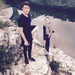 Chris et Sophie, Pont du Gard