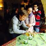Dégustation d'huiles d'olive au Moulin de Mouriès