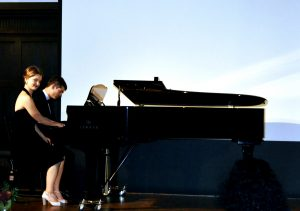 Sylvana au piano
