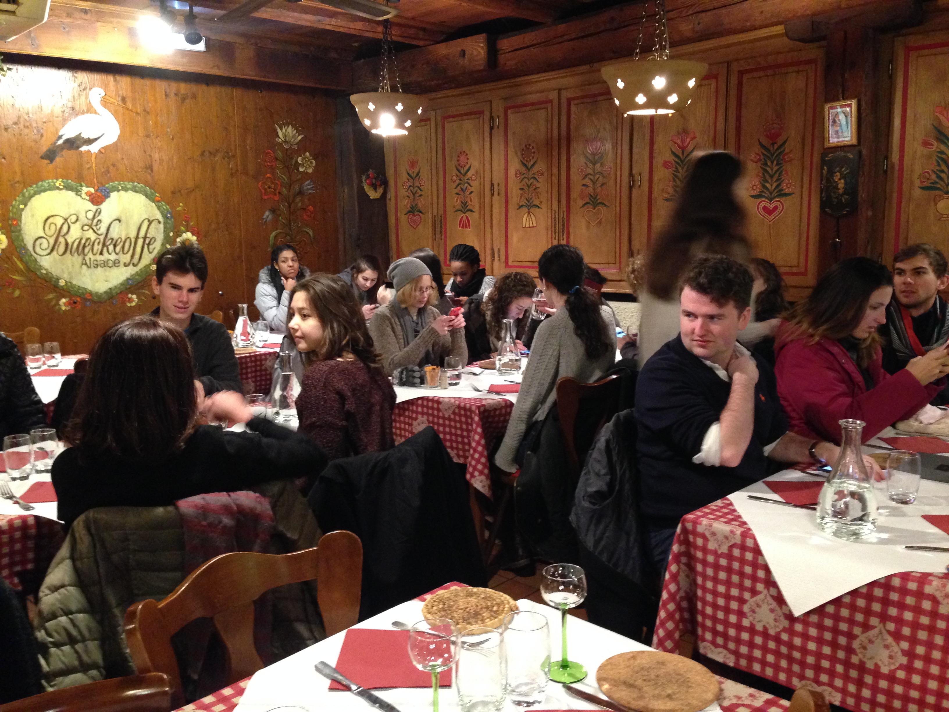 Restaurant le Baeckeoffe d'Alsace