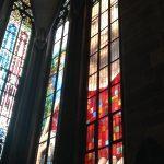 Vitraux contemporain, d'après Hans Memling