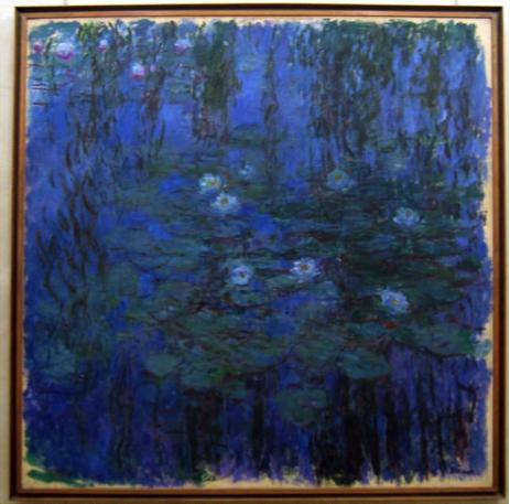 Nymphéas bleus, Monet