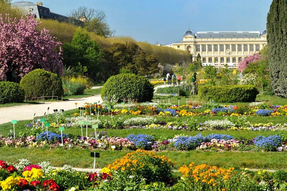 parcs et jardins parisiens