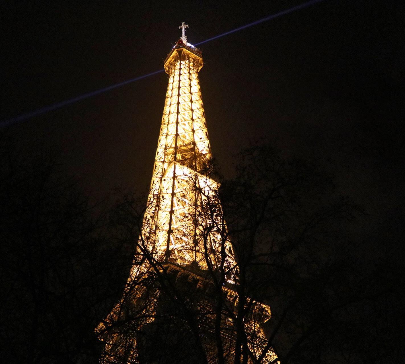 La Tour Eiffel nocturne